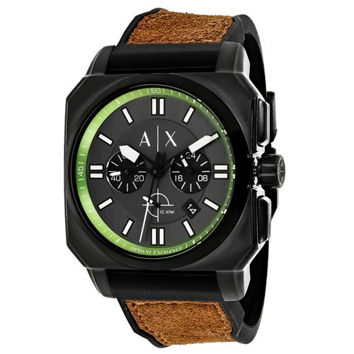 Armani Exchange Takedown Black Men's Watch AX1652