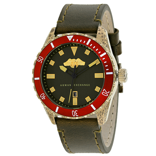 Armani Exchange Classic Black Men's Watch AX1712