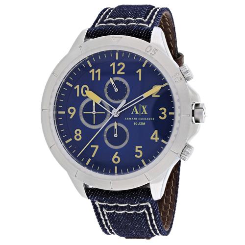 Armani Exchange Chronograph Blue Men's Watch AX1756