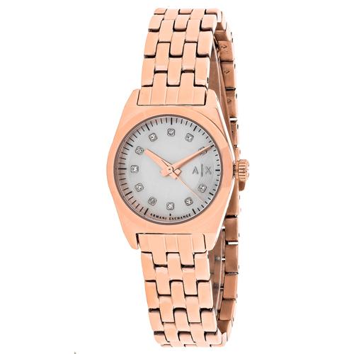 Armani Exchange Miss Jackson White Mop Women's Watch AX5336