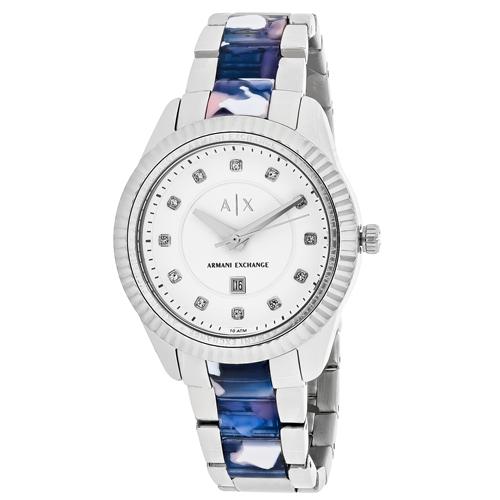 Armani Exchange Classic White  Women's Watch AX5438
