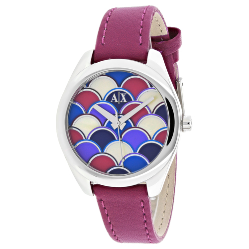 Armani Exchange Serena  Multi-Colored Mosaic Women's Watch AX5523