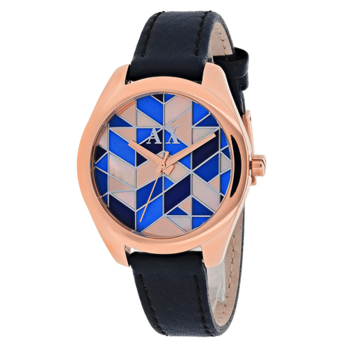 Armani Exchange Serena  Multi-Colored Mosaic Women's Watch AX5525