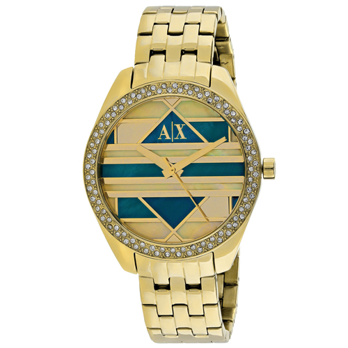 Armani Exchange Serena  Multi-Colored Mosaic Women's Watch AX5527