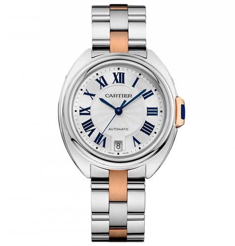 Cartier Cle De Cartier Silver Women's Watch W2CL0003