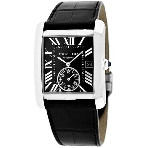 Cartier Tank Black Men's Watch W5330004