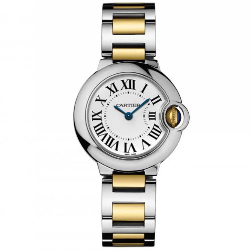 Cartier Ballon Bleu Silver Women's Watch W69007Z3