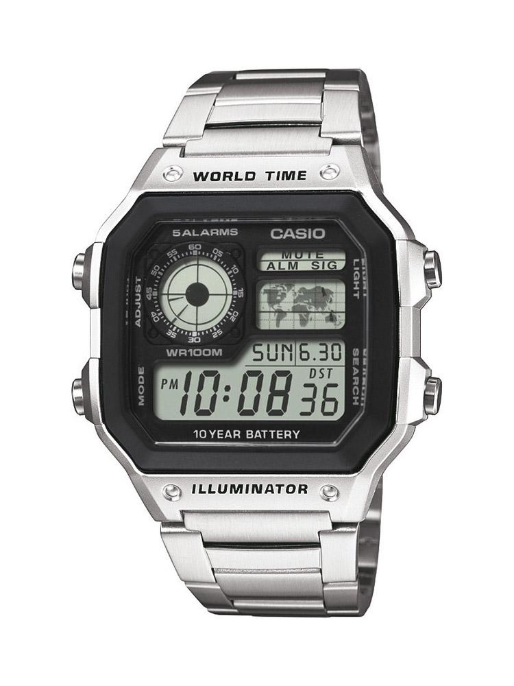 Casio Digital Ae-1200Whd-1Av Men's Watch