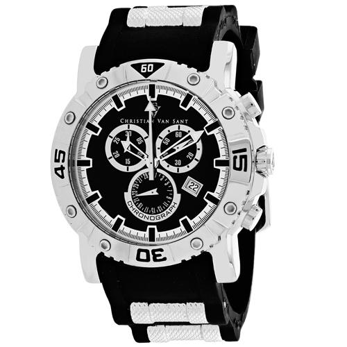 Christian Van Sant Cosenza Black Men's Watch CV0510