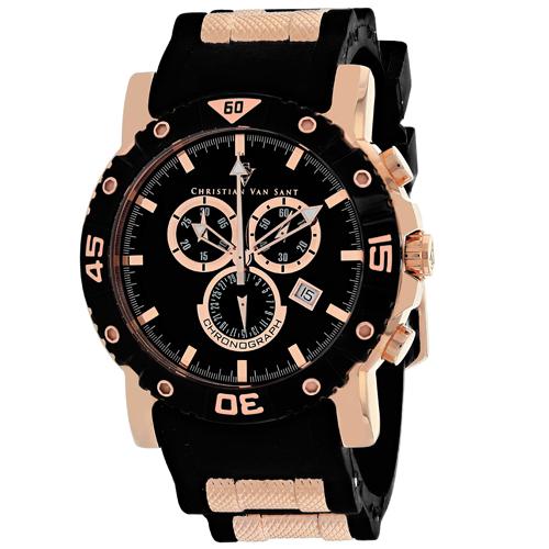 Christian Van Sant Cosenza Black Men's Watch CV0511