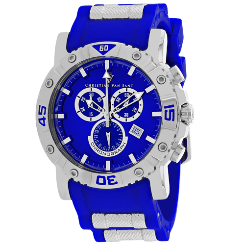 Christian Van Sant Cosenza Blue Men's Watch CV0512