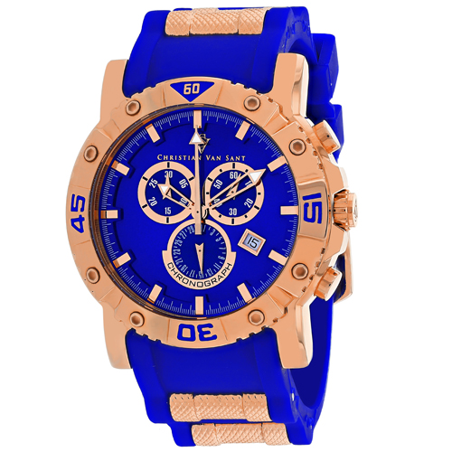 Christian Van Sant Cosenza Blue Men's Watch CV0513