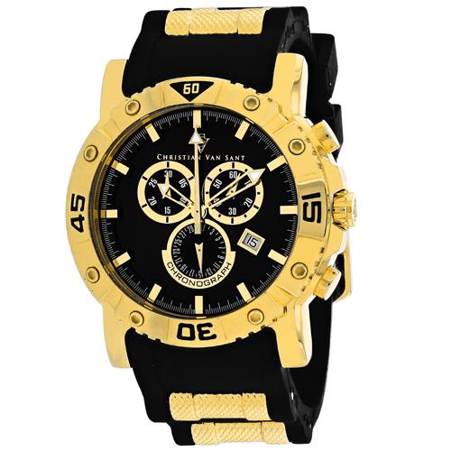 Christian Van Sant Cosenza Black Men's Watch CV0514