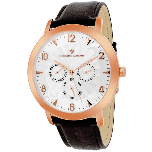 Christian Van Sant Harper Cream Men's Watch CV3514