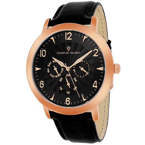 Christian Van Sant Harper Black Men's Watch CV3515
