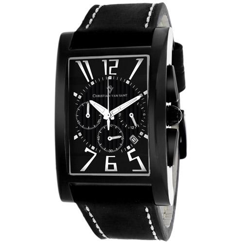 Christian Van Sant Cannes Black Men's Watch CV4512