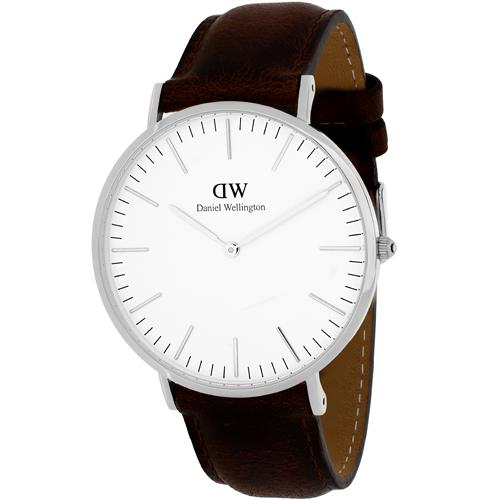 Daniel Wellington Classic Bristol White Men's Watch 0209DW