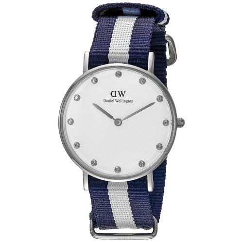 Daniel Wellington Glasgow White Women's Watch 0963DW