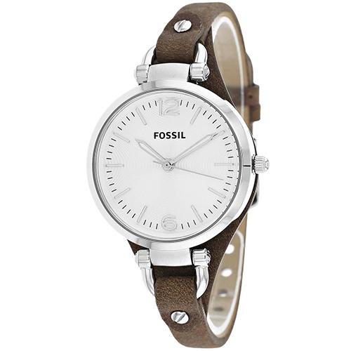 Fossil Georgia Silver Women's Watch ES3060