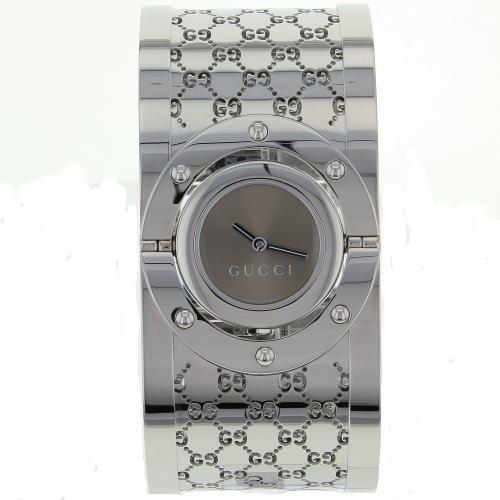 Gucci women 39 s twirl watch swiss quartz anti reflective crystal ya112401 for Anti reflective watches