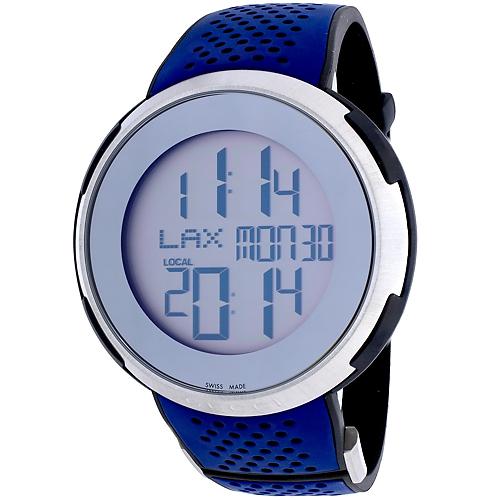 Gucci I-Gucci XXL Sport Silver Men's Watch YA114105
