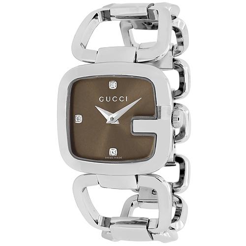 Gucci 125 Series Brown Women's Watch YA125401