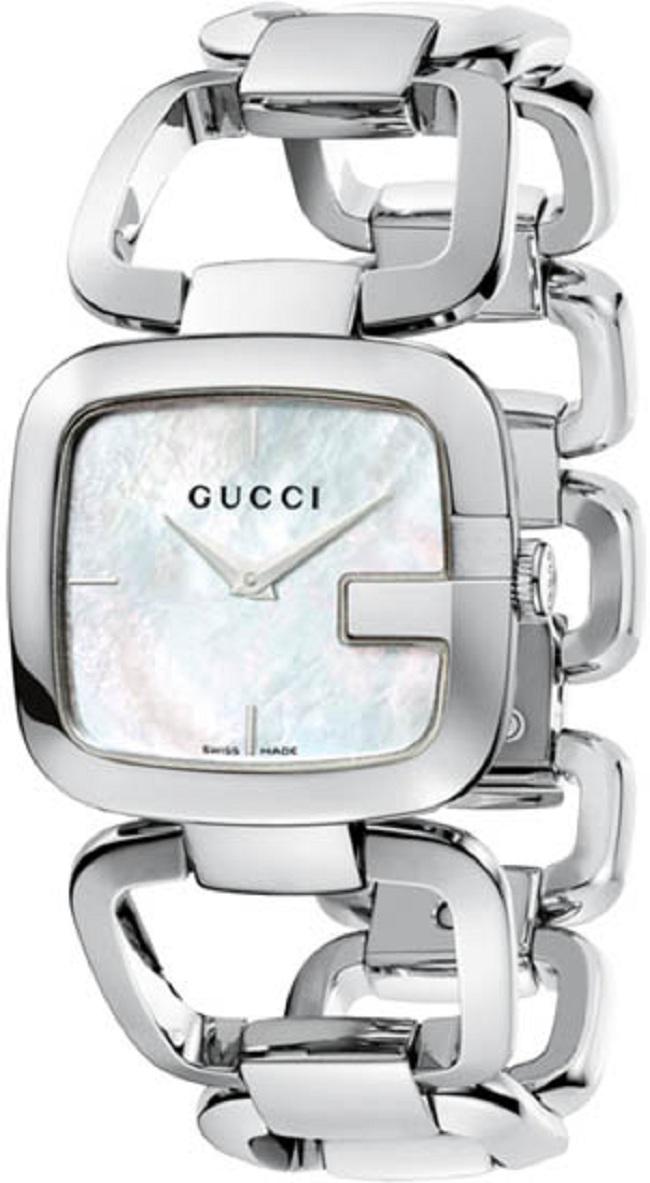 Gucci G-Class White Women's Watch YA125404