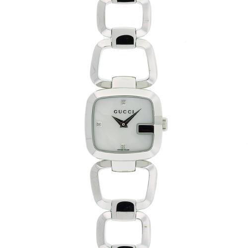 Gucci 125 Series White Women's Watch YA125502