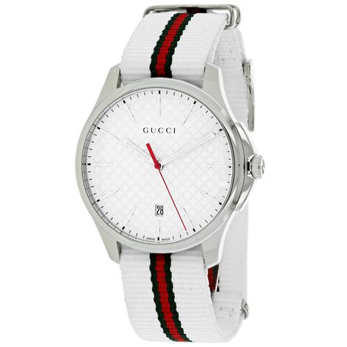 Gucci G-Timeless White Men's Watch YA126322
