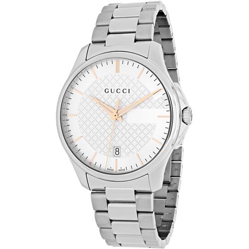 Gucci G-Timeless Silver Men's Watch YA126442