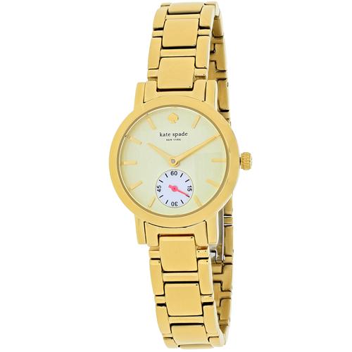 Kate Spade Gramercy Mini Gold Tone Women's Watch 1YRU0482