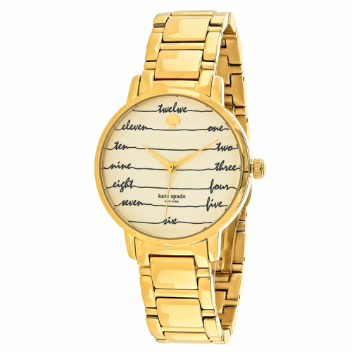 Kate Spade Gramercy White Women's Watch KSW1060