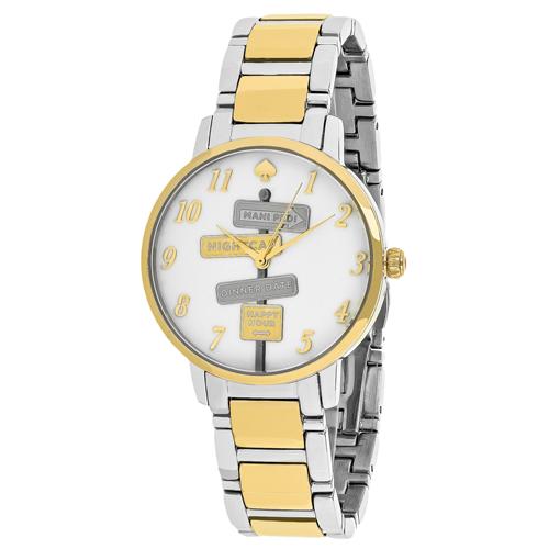 Kate Spade Gramercy White Women's Watch KSW1129