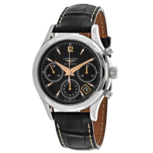 Longines Heritage Black Men's Watch L27424560