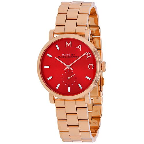 Marc Jacobs Baker Red Women's Watch MBM3344