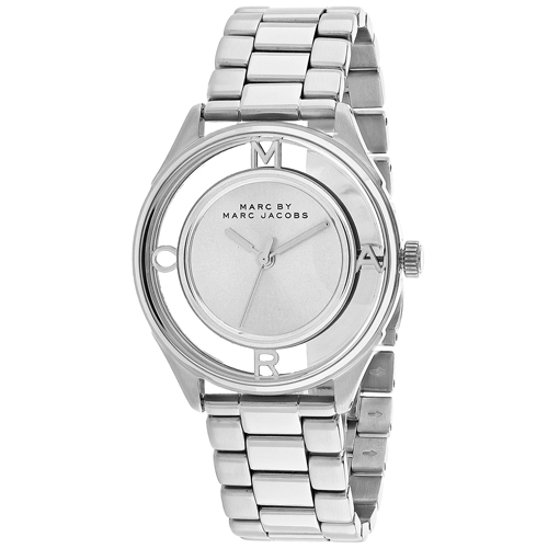 Marc Jacobs Tether  Silver Women's Watch MBM3412