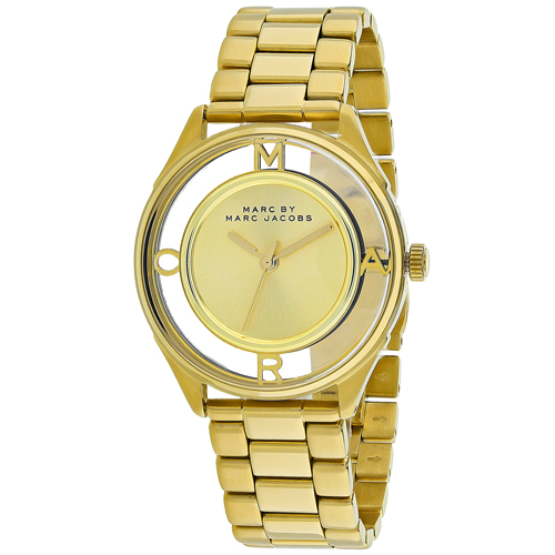 Marc Jacobs Tether  Gold Women's Watch MBM3413
