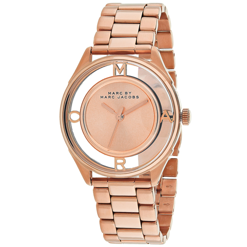 Marc Jacobs Tether  Rose Gold Women's Watch MBM3414