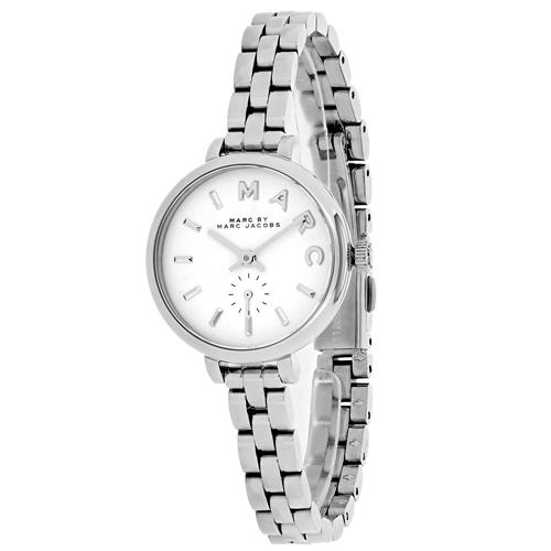 Marc Jacobs Baker Silver Women's Watch MBM8642