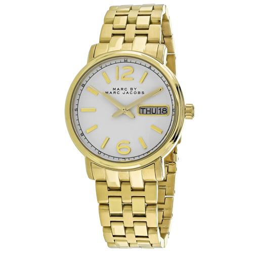 Marc Jacobs Fergus White Women's Watch MBM8647