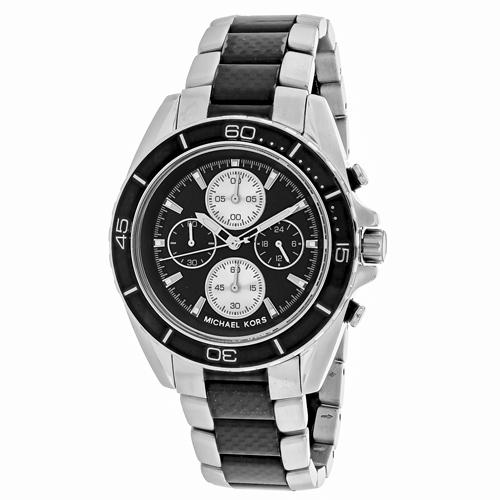 Michael Kors Jetmaster Black Men's Watch MK8454