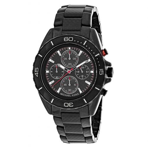 Michael Kors Jetmaster Black Men's Watch MK8455