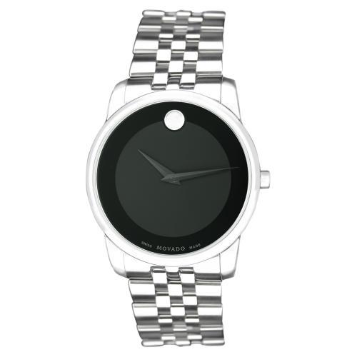 Movado Museum Black Men's Watch 606504