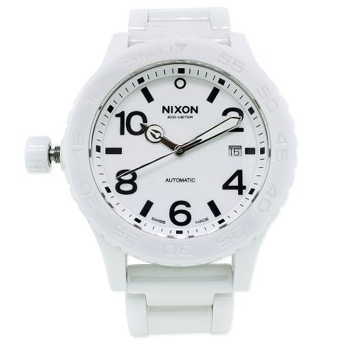 Nixon 42-20 White Men's Watch A148-126