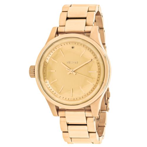 Nixon Facet 38 Gold Women's Watch A409-502