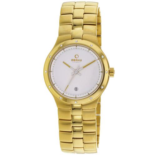 Obaku Harmony White Women's Watch V111LGWSG