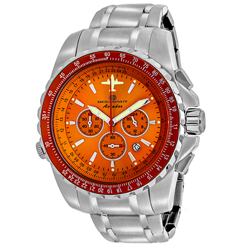 Oceanaut Aviador Pilot Orange Men's Watch OC0115