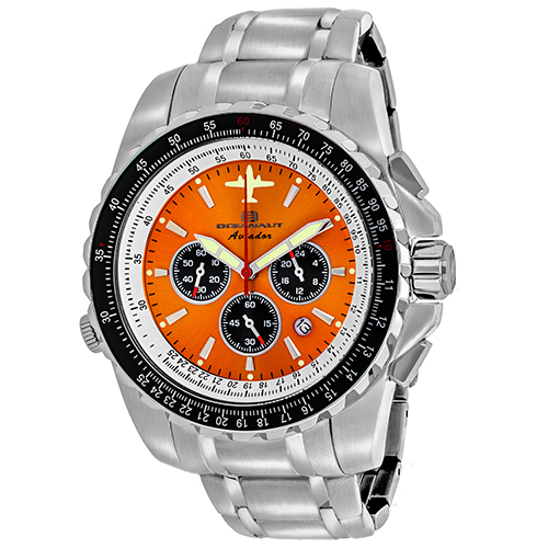 Oceanaut Aviador Pilot Orange Men's Watch OC0116