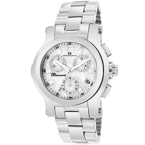 Oceanaut Baccara White Mother Of Pearl Men's Watch OC0720