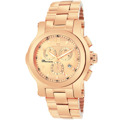 Oceanaut Baccara Rose Gold Dial Men's Watch OC0722